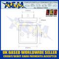 LED Autolamps 81AM LED Amber Indicator Light Lamp 12/24v Dimensions