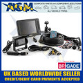 brigade, cctv, 5 inch screen, colour screen, safety system, car, van, truck, commercial