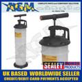 SEALEY TP69 Vacuum Oil & Fluid Extractor Manual 6.5ltr