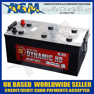 Monbat Dynamic HD Battery 210AH, 1350A, 625, 632 IVECO, DAF, CF,