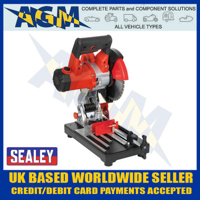 sealey, sm180b, cut, off, machine, tool, steel, cutting, blade