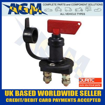 Durite 0-605-00 Battery Master/Isolator Switch 12v or 24v