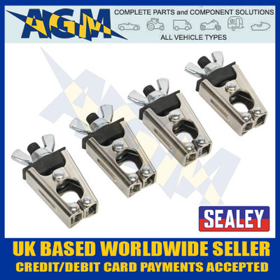 Sealey AK6804 Micro / Mini Welding Clamp Set 4 piece