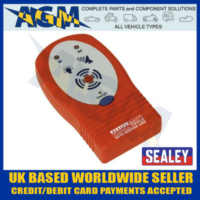 sealey, vs921, infrared, radio, ir, if, key, fob, remote, tester