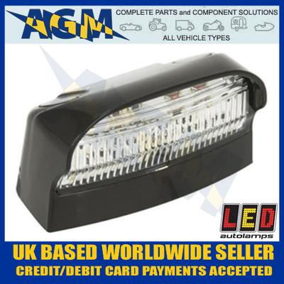 LED Autolamps 41BLM Number or Registration Plate Lamp 12/24V