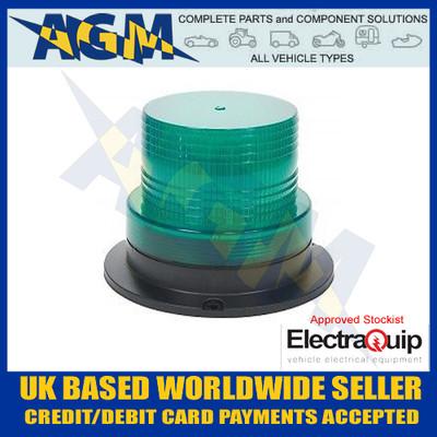 electraquip, 130gbm, compact, green, led, beacon, 12v, 24v