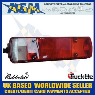 truck-lite, rubbolite, 461din/07/44, scania, rh, rear, lamp, din, plug