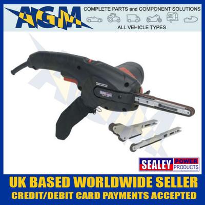 sealey, sbs35,  hand, held, variable, speed, belt, sander, 400w, 230v