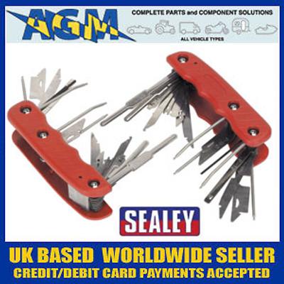 Sealey VS8048 Radio Release Key Set 36 Function