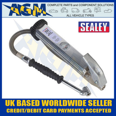 sealey, sa39, tyre, inflator