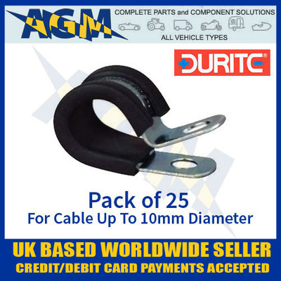 durite, 0-002-83, 000283, pclip, clip, cable