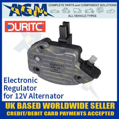 durite, 083155, 0-831-55, electronic, regulator, 12v, alternator