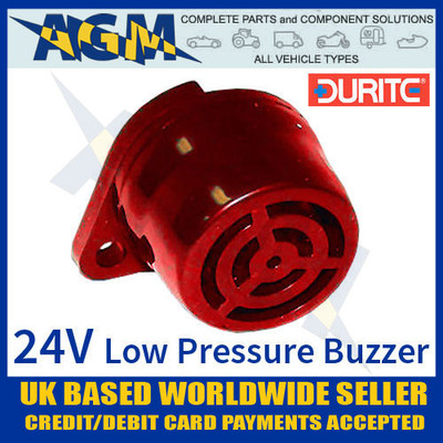 durite, 056224,  0-562-24, 24v, low, pressure, warning, buzzer, 90db