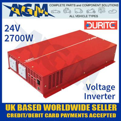 0-857-77, 24v, 2700w, durite, sine, wave, voltage, inverter