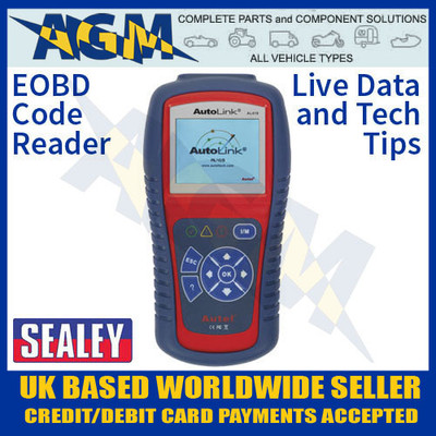 sealey, al419, autel, eobd, code, reader