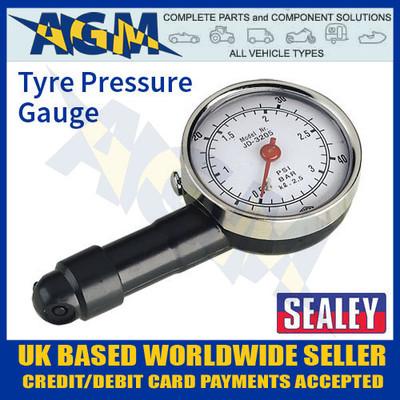 sealey, tst, pg, 97, tyre, pressure, gauge, dial