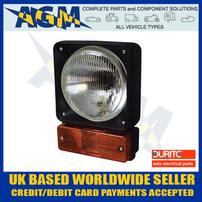 Durite 0-424-00 Headlamp Unit with Moulded Housing + Direction Indicato