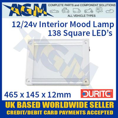 0-668-77. 066877, durite, slim, 12v, 24v, led, vehicle, roof, mood, light