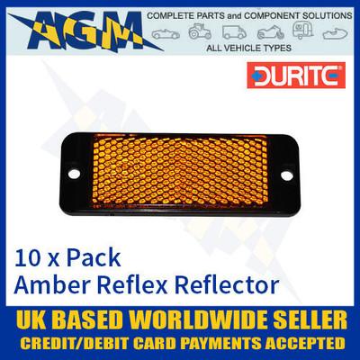 durite, 0-505-30, amber, reflex, reflector