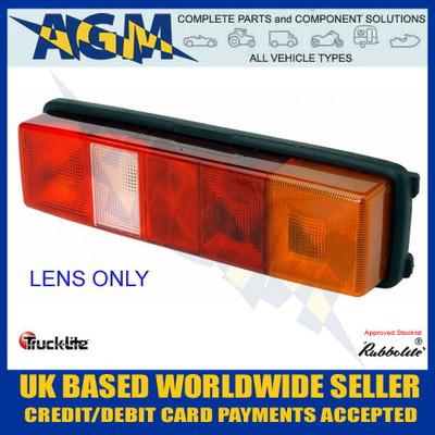 TruckLite, Rubbolite, 4938, Right, Lens, Number Plat, Trucks, Vans, Lorries, Commercial