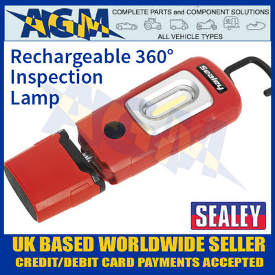 Sealey LED3601R Rechargeable 360° Inspection Lamp