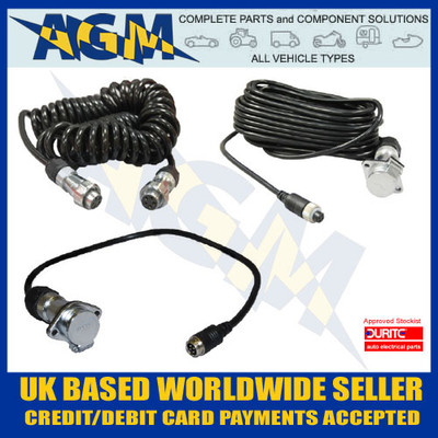 Durite, 0-776-95, 3.5 Metre, Retractable ,Suzi Cable, Lead, Kit, CCTV