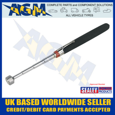 S0823, Sealey, Heavy-Duty, Magnetic, Pick-Up, Tool, 3.6kg Capacity, Siegen, Workshop, Garage