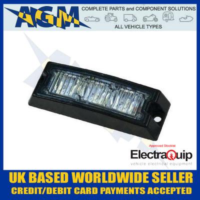 Electraquip REG 65 SLED3DVAR65 LED Slimline Directional Warning Amber Lamp ECE65