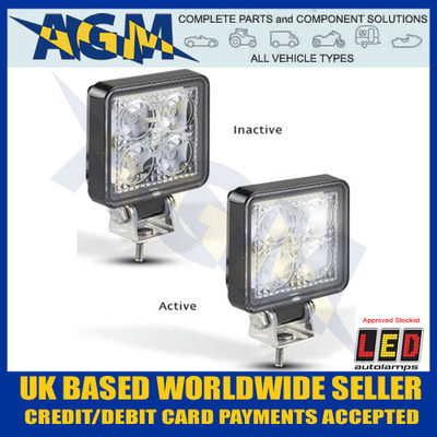 Led Autolamps 7312BM Work / Flood / Reverse Light / Lamp
