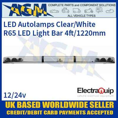 EQLB482AC LED Lighbar Clear/White Twin Light Module 4ft/1220mm