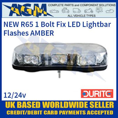 Durite 0-443-60 Amber High Power LED Single Bolt Fixing Lightbar