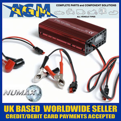 """Numax """"Connect and Forget"""" 10A Leisure Battery Charger 121000LEISURE"""