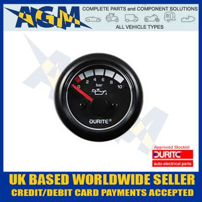 durite, 0-525-16, 052516, 12v, 24v, led, illuminated, oil, pressure, gauge, sender, marine