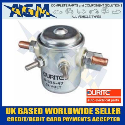 DURITE 0-335-47, 24V Make/Break Universal Solenoid, 50A