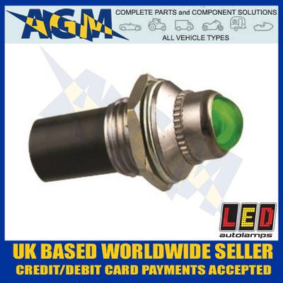 led, autolamps, plg12, green, 12v, pilot, light