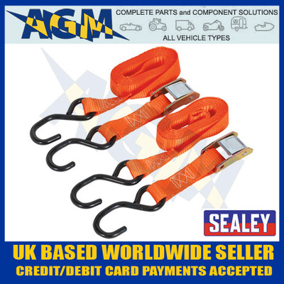 sealey, td05025cs, webbing, cam, buckle, tie, hook