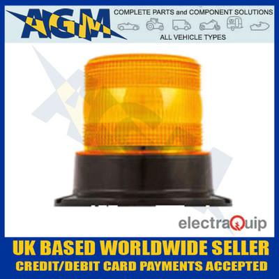 electraquip, eqpr65abm, three, bolt, r65, led, amber, beacon