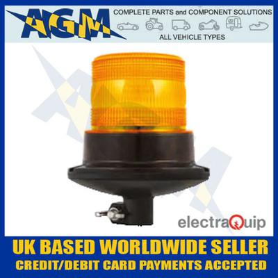 electraquip, eqpr65abm-dm, din, mounted, r65, led, amber, beacon