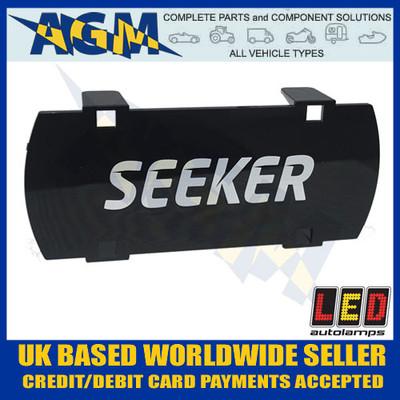 led, autolamps, seeker10s, black, seeker, driving, light, lens, cover