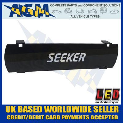 led, autolamps, seeker20s, black, seeker, driving, light, lens, cover