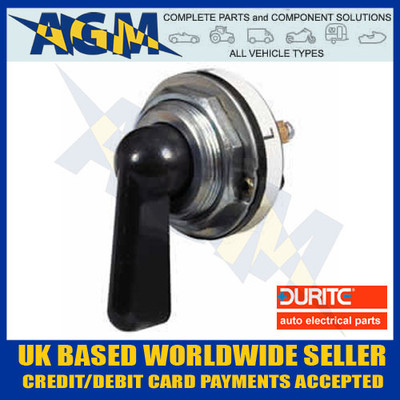 durite, 0-483-00, indicator, switch, 3way, on, off, rotary, switch