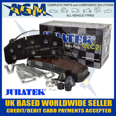 Brake Pads & Fitting Kit for KNORR BREMSE, BPW, WABCO & HALDEX Calipers
