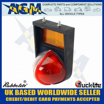 rubbolite, trucklite, 55/01/01, m55, red, white, side, marker, lamp