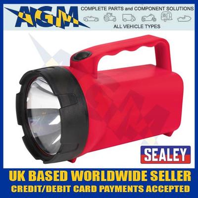 sealey, ak427, krypton, bulb, weather, proof,  lantern, hand, held, halogen, battery, torch