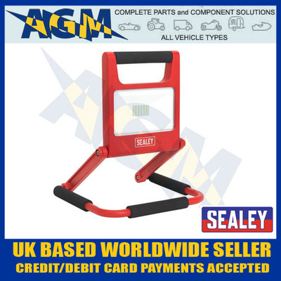 Sealey LED171 LED Rechargeable Fold Flat Flood Light