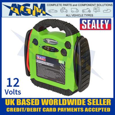 Sealey RS1312HV RoadStart® Emergency Power Pack 12V 900 Peak Amps