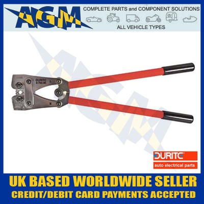 Durite 0-703-85 Heavy Duty Crimping Tool For Large Un-Insulated Terminals