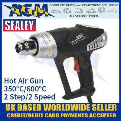 Sealey HS103K Hot Air Gun Kit 2-Step 2-Speed 350°C/600°C 2000W