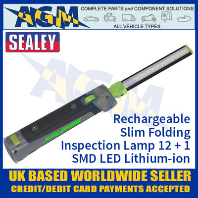 Sealey LED180 Rechargeable Slimline Inspection Lamp