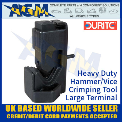 Durite Heavy Duty Hammer/Vice H/D Crimping Tool for Large Terminals